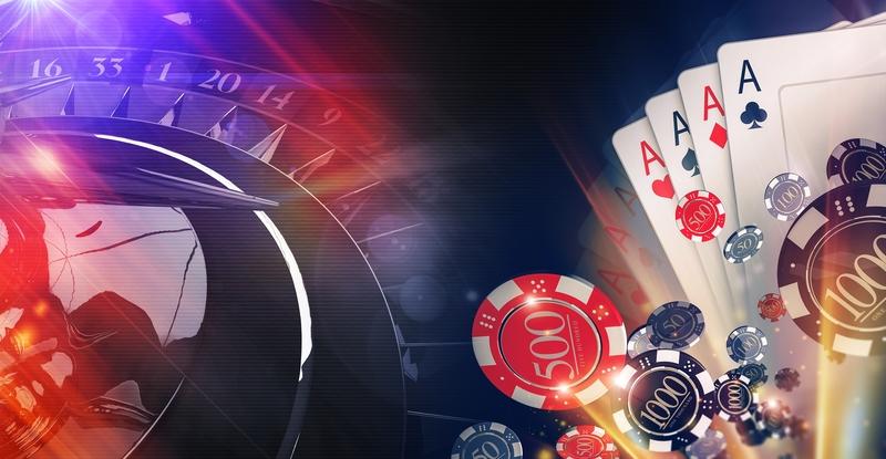 blackjack, slots, roulette, poker, baccarat